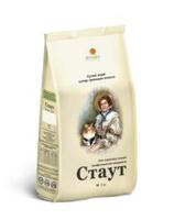 Сухой корм Стаут для взрослых кошек, профилактика ожирения