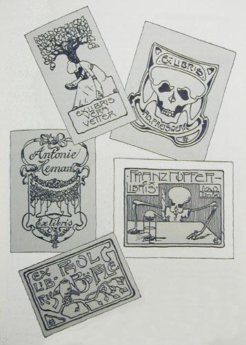 Schweizerische Blatter Ex libris- Sammler. Jahrgang 1904