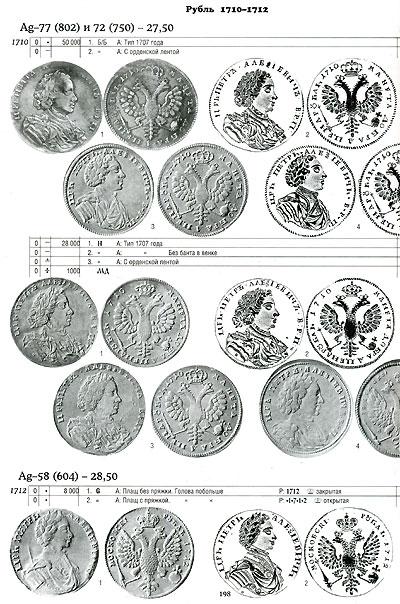 Монеты Российской Империи. 1699-1725. В 2 книгах. Книга 1