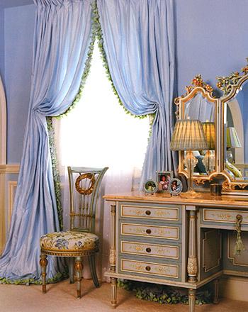 Гардины, шторы и портьеры. Ткани в интерьере вашего дома