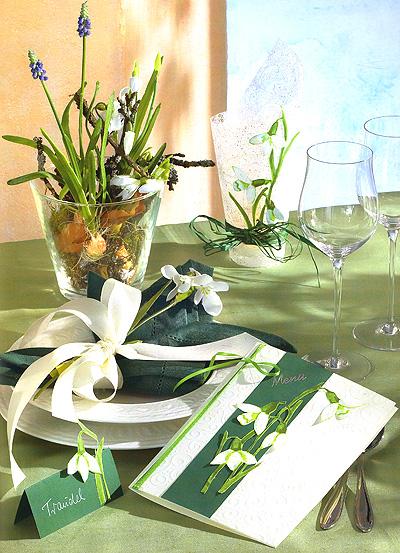 Украшение праздничного стола. Идеи декорирования