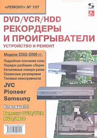DVD/VCR/HDD рекордеры и проигрыватели. Устройство и ремонт