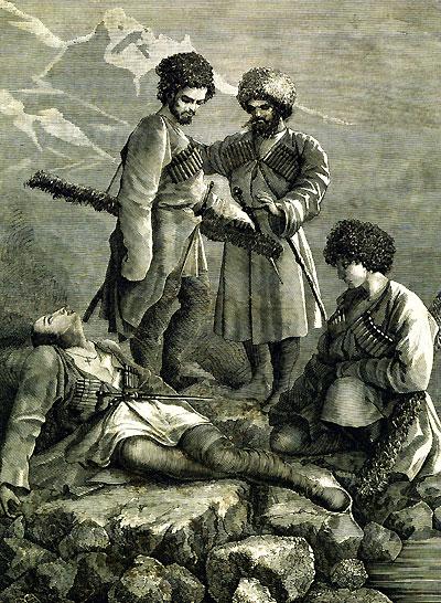Кавказские силуэты (подарочное издание)