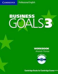 Business Goals 3 Workbook with Audio CD