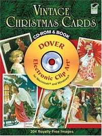 Vintage Christmas Cards (+ CD-ROM). Carol Belanger Grafton