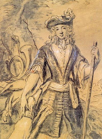 Французский рисунок XVII века в собрании Эрмитажа / Le dessin francais du XVII siecle dans les collections du Musee de l'Ermitage
