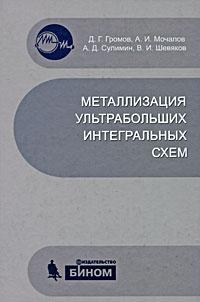 Металлизация ультрабольших интегральных схем