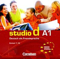 Studio d A1: Deutsch als Fremdsprache: Einheit 7-12 (аудиокурс на CD)