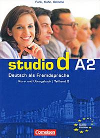 Studio d A2: Deutsch als Fremdsprache: Kurs- und Ubungsbuch: Teilband 2 (+ CD)