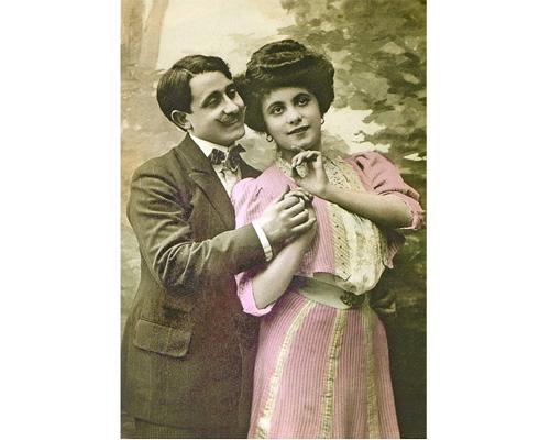 Язык любви: Любовная открытка XX века