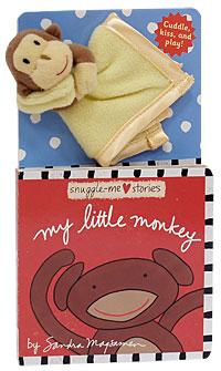My Little Monkey. Книжка-игрушка