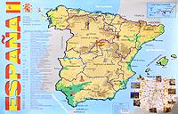 Espana. Карта