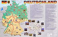 Deutschland. Карта ( 978-5-9925-0396-8 )
