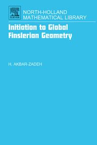 Initiation to Global Finslerian Geometry,68