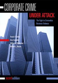 Corporate Crime Under Attack