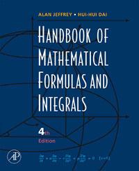 Alan Jeffrey Handbook of Mathematical Formulas and Integrals набор стамесок stanley dynagrip 6 12 18 25 32 мм 5 шт