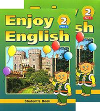 Enjoy English 2: Student's Book / Английский с удовольствием. 3-4 классы (комплект из 2 книг)