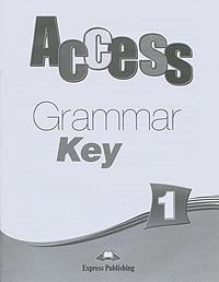 Access 1: Grammar Key