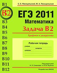 ЕГЭ 2011. Математика. Задача В2. Графики и диаграммы. Рабочая тетрадь