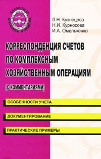 Корреспонденция счетов по комплексным хозяйственным операциям (с комментариями)