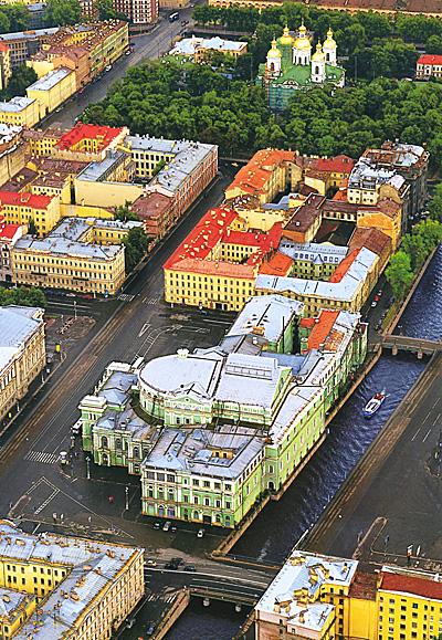 Санкт-Петербург с птичьего полета. Альбом