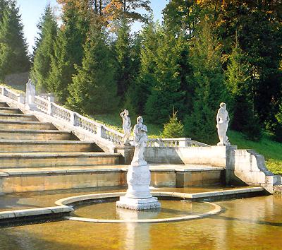 Peterhof. Pavlovsk. Carskoje Selo. Gatcina. Oranienbaum