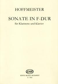Hoffmeister: Sonate in F-Dur fur Klarinette und Klavier