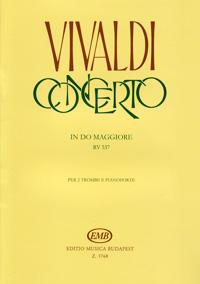 Vivaldi: Concerto in do maggiore rv 537 per 2 trombe e pianoforte
