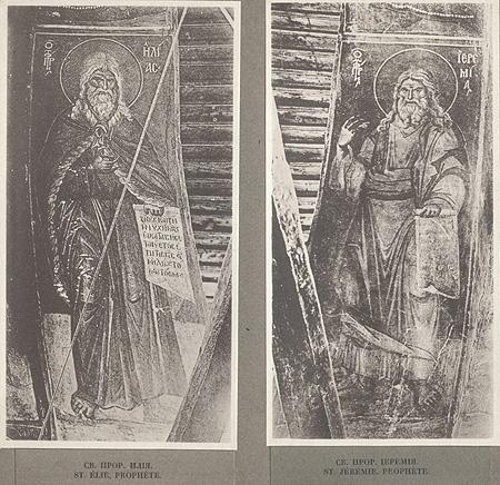 Фрески Панселина в Протате на Афоне