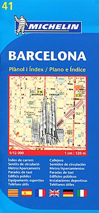 Barcelona: Planol i Index / Plano e Indice
