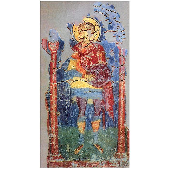 Фрески храма Спаса Преображения на Ковалеве в Новгороде, 1380 года