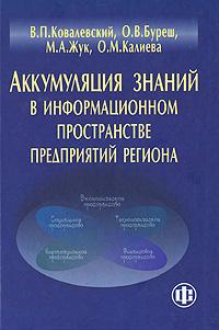 Аккумуляция знаний в информационном пространстве предприятий региона