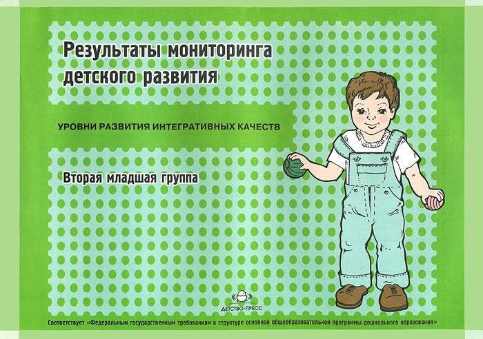 Результаты мониторинга детского развития. Вторая младшая группа