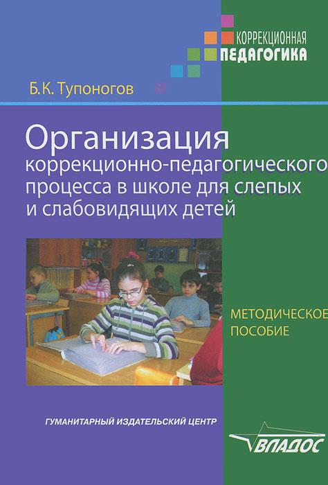 Организация коррекционно-педагогического процесса в школе для слепых и слабовидящих детей
