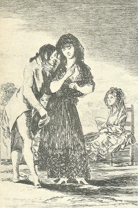 Francisco Goya Y Lucientes. Caprichos