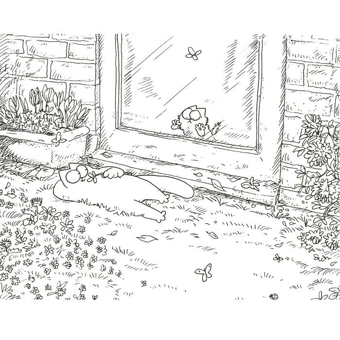 Кот Саймона. Книга 3. Испытание котенком