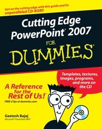 Cutting Edge PowerPoint 2007® For Dummies®
