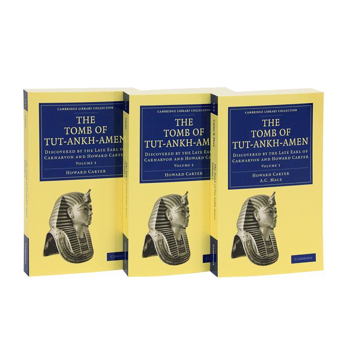 The Tomb of Tut-Ankh-Amen (комплект из 3 книг)