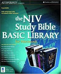 NIV Study Bible Basic Library for Macintosh ®, The