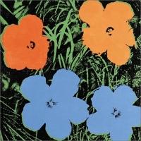 Jeff Koons & Andy Warhol: Flowers