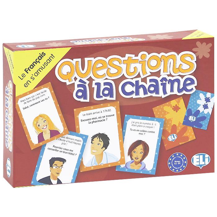 Questions a la chaine (набор из 132 карточек)