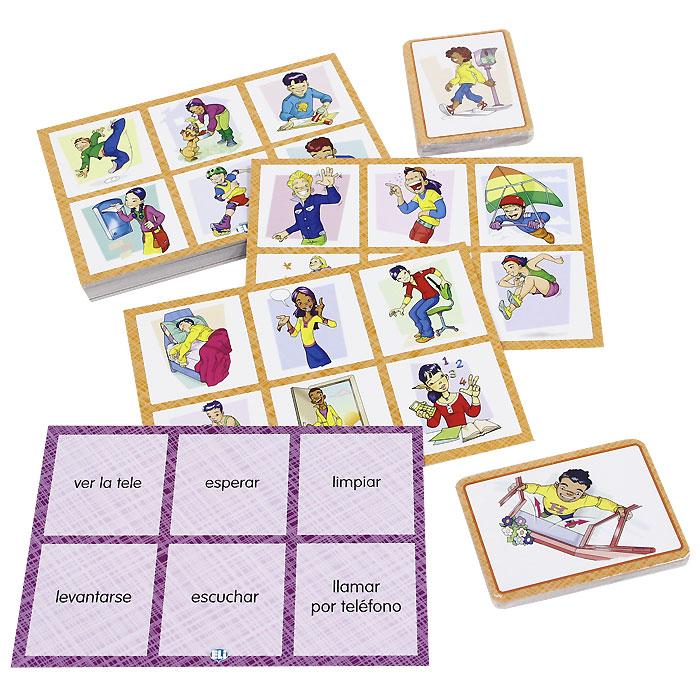 Bingo de los verbos (набор из 102 карточек)