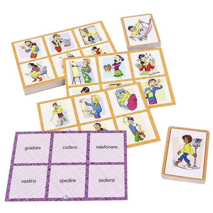 Tombola dei Verbi (набор из 102 карточек)
