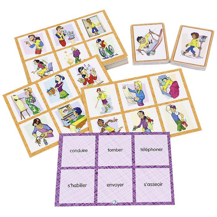 Bingo Verbes (набор из 102 карточек)