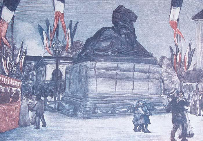 Париж накануне войны. В монотипиях Е. С. Кругликовой