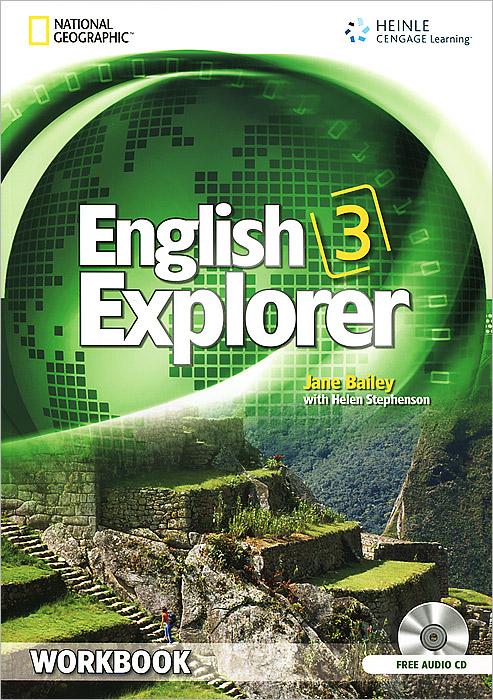 English Explorer International 3 Workbook (+ CD-ROM)