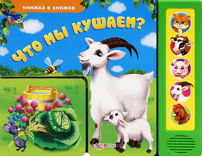 Что мы кушаем? Книжка-игрушка