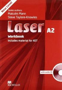 Laser A2: Workbook (+ CD-ROM)12296407Laser A2 совмещает в себе экзаменационную практику в формате KET и типичные для серии Laser черты: большой объем лексического и грамматического материала, разнообразные упражнения, детальную проработку этапов создания письменной работы. Упражнения экзаменационного типа представлены в каждом разделе.