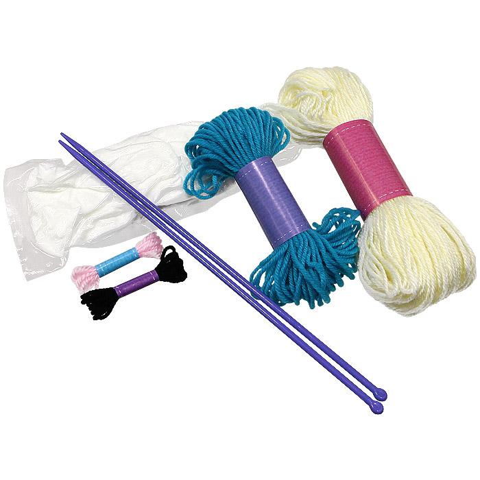 Сделай сам вязаную игрушку (+ набор для вязания)