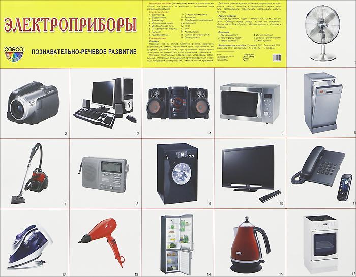 Электроприборы. Плакат